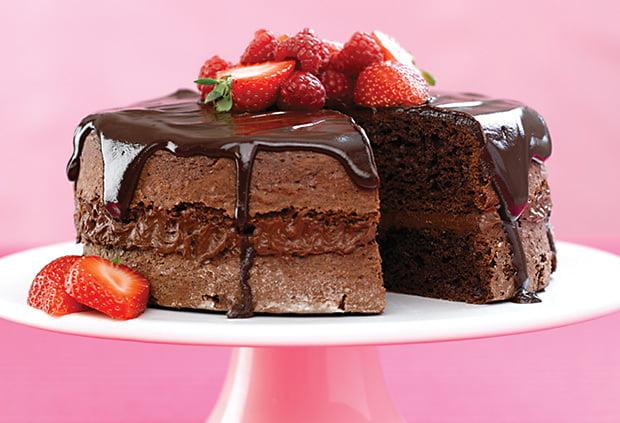 Glaseado sencillo de chocolate