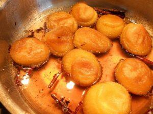Receta de huevos quimbos