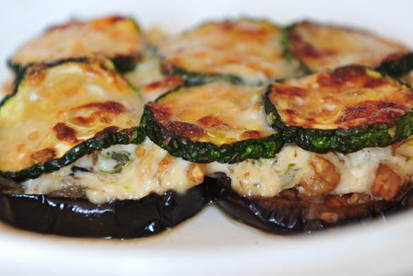 Musaka vegetariana